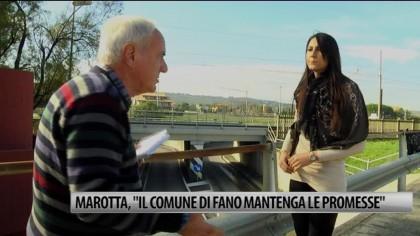 """Marotta, """"Il Comune di Fano mantenga le promesse"""" – VIDEO"""
