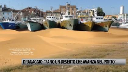 """Dragaggio: """"Fano un deserto che avanza nel porto"""" – VIDEO"""