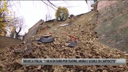 """Sblocca Italia: 1mln di euro a Cartoceto per Teatro, mura e polo scolastico"""" – VIDEO"""