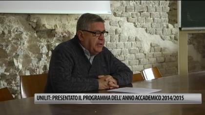 Unilit: presentato il programma accademico 2014/2015 – VIDEO