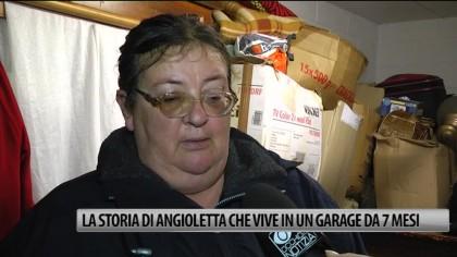 La storia di Angioletta che vive in un garage da sette mesi – VIDEO