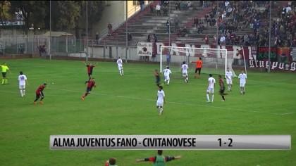 Sconfitta casalinga per l'Alma Juventus Fano: ha perso 2 a 1 contro la Civitanovese – VIDEO