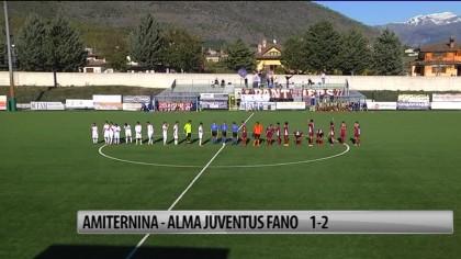 Alma Juventus Fano vince 2 a 1 contro l'Aminternina – VIDEO