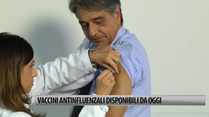 Vaccini antinfluenzali disponibili da ieri. Sono gratuiti per i soggetti a rischio – VIDEO