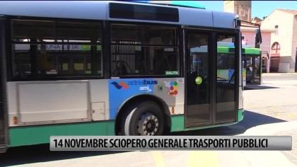 14 novembre sciopero generale dei trasporti pubblici – VIDEO