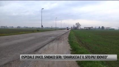 """Ospedale unico, Sindaco Seri: """"Chiaruccia il sito idoneo"""" – VIDEO"""