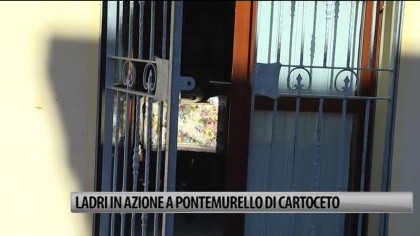 Ladri in azione a Pontemurello di Cartoceto – VIDEO
