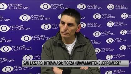 """San Lazzaro, Ditommaso: """"Forza Nuova mantiene le promesse"""" – VIDEO"""