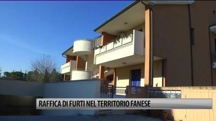 Raffica di furti nel territorio fanese – VIDEO