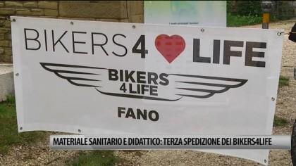 Materiale sanitario e didattico: Terza spedizione dei Bikers4life – VIDEO