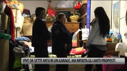 Vive da sette mesi in un garage, ma rifiuta gli aiuti proposti – VIDEO