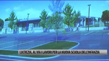 Lucrezia, al via i lavori per la nuova scuola dell'infanzia – VIDEO