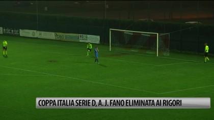 Coppa Italia – Serie D: l' Alma Juventus Fano  perde ai rigori contro la Correggese – VIDEO