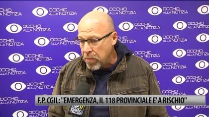 "F.P. Cgil: ""Emergenza, il 118 provinciale è a rischio"" – VIDEO"