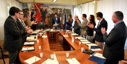 Insediato il nuovo consiglio provinciale: Maurizio Gambini nominato vice presidente