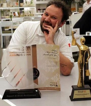 E' tempo di guide gastronomiche: a Dubai spicca lo chef forsempronese Luca Zanchetti