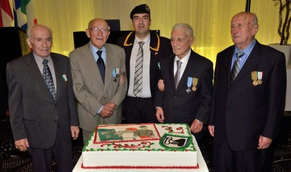 Consegnate medaglie belliche ai combattenti della seconda guerra mondiale