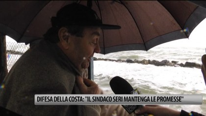 """Difesa della costa: """"Il Sindaco Seri mantenga le promesse"""" – VIDEO"""