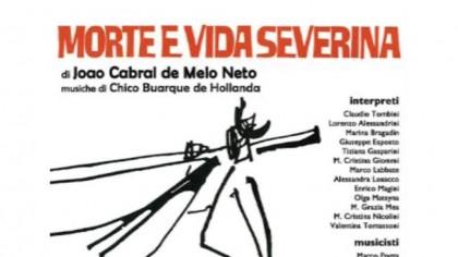 """""""Morte e Vida Severina"""", l' 11 dicembre al Teatro della Fortuna di Fano – VIDEO"""