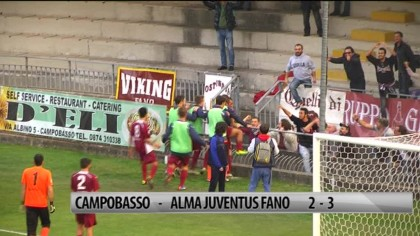 Campobasso – Alma Juventus Fano    2-3 – VIDEO
