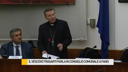 Gli Auguri del Vescovo Armando Trasarti al Consiglio Comunale – VIDEO INTEGRALE
