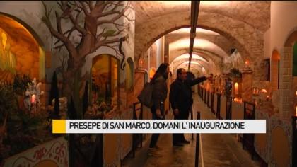 Presepe di San Marco, oggi l'inaugurazione – VIDEO