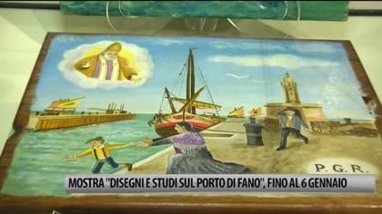 """La mostra """"Disegni e Studi sul porto di Fano"""" è stata prorogata fino al 6 gennaio – VIDEO"""