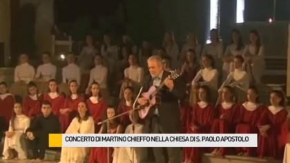 Concerto – testimonianza di Martino Chieffo nella Chiesa di San Paolo Apostolo – VIDEO