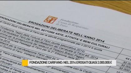 Fondazione Cassa di Risparmio di Fano: nel 2014 erogati quasi 2.000.000€ – VIDEO