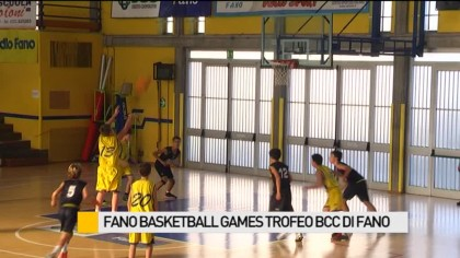 Fano Basketball games trofeo Bcc di Fano – VIDEO