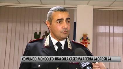 Comune di Mondolfo: una sola Caserma aperta 24 ore su 24 – VIDEO