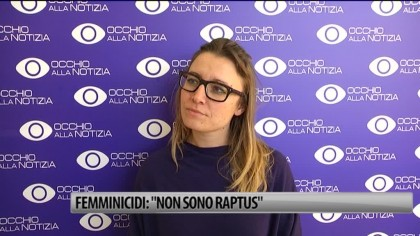 "Femminicidi: ""Non sono raptus"" – VIDEO"
