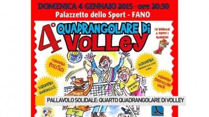 Pallavolo solidale: Quarto Quadrangolare di Volley – VIDEO