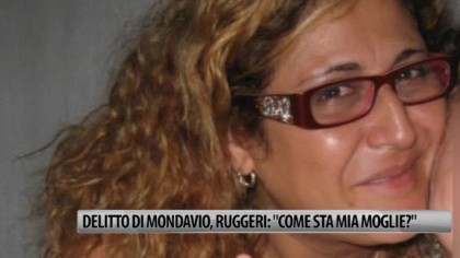 "Delitto di Mondavio, Ruggeri: ""come sta mia moglie?"" – VIDEO"