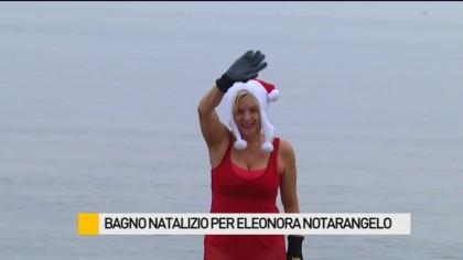 Bagno natalizio per Eleonora Notarangelo – VIDEO