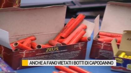 Fuochi d'artificio vietati a Fano dal 30 dicembre al 6 gennaio 2015 – VIDEO