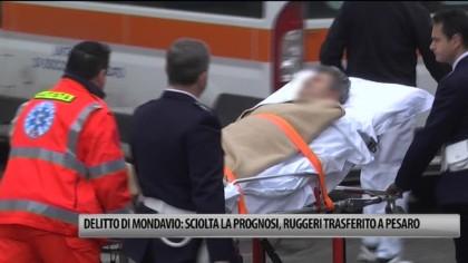 Omicidio di Mondavio: Ruggeri trasferito a Pesaro – VIDEO