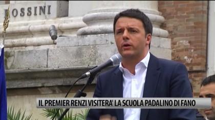Il Premier Renzi visiterà l'Istituto Padalino di Fano – VIDEO