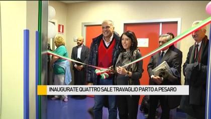 Inaugurate quattro sale travaglio parto al San Salvatore di Pesaro – VIDEO