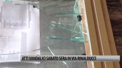 Atti vandalici sabato sera nel centro storico di Fano – VIDEO