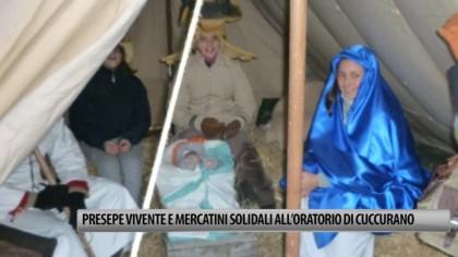 """Presepe vivente e mercatini solidali all'Oratorio """"La Stazione"""" di Cuccurano – VIDEO"""