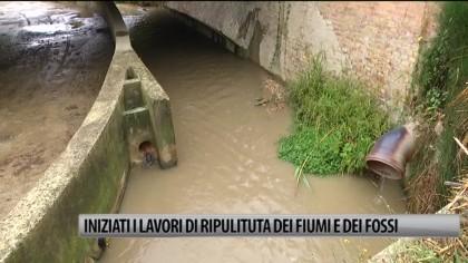 Fiumi e fossi, iniziati i lavori di ripulitura – VIDEO