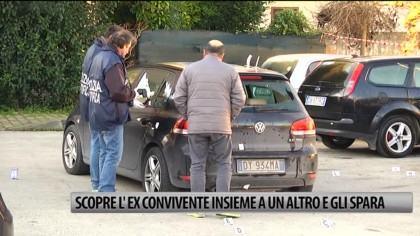 A Fano nella notte: scopre la moglie con un altro in auto e gli spara – VIDEO – FOTO