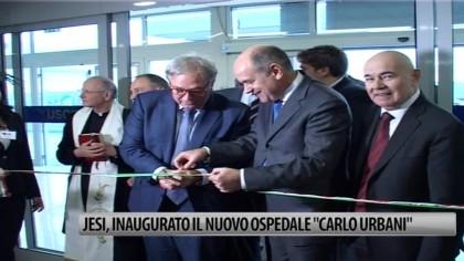 """Jesi, inaugurato il nuovo ospedale """"Carlo Urbani"""" – VIDEO"""