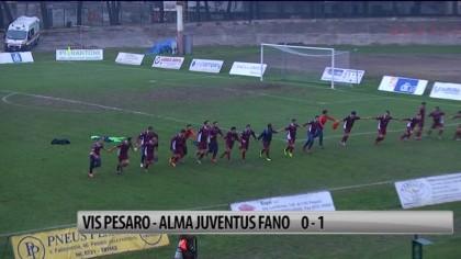 Il Fano vince il derby contro la Vis Pesaro al Benelli – VIDEO