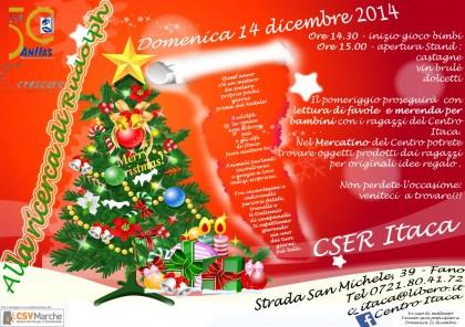 """""""Alla ricerca di Rudolph"""", il 14 dicembre al Centro Itaca di Fano"""