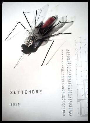 """""""Calendario che ricicla"""", menzione speciale per tre allievi della 4B dell'Istituto Adriano Olivetti"""