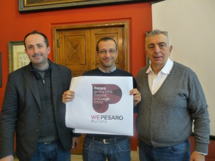 """Pesaro prima città italiana su Google trend, Ricci: """"Sarà dentro il city brand, diventerà la nostra cartolina ovunque"""""""