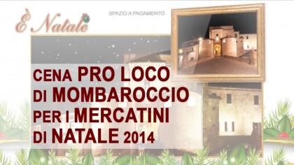 Cena Pro Loco di Mombaroccio per i mercatini di Natale 2014