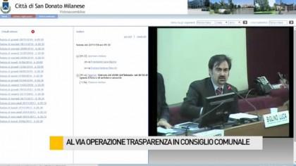 """Al via """"l'Operazione Trasparenza"""" in Consiglio comunale – VIDEO"""